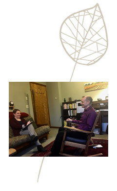 Counseling on Burnside leaf logo